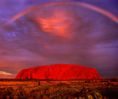 how to take a good photo of uluru